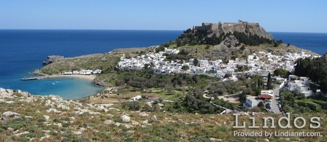 A View of Lindos