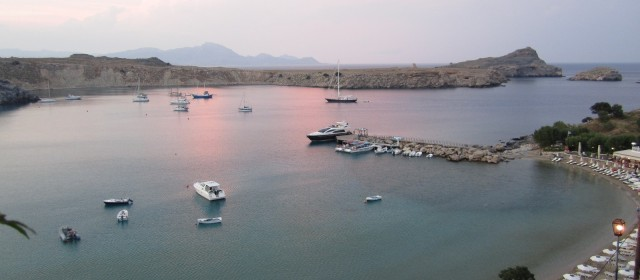 The Lindos Bay